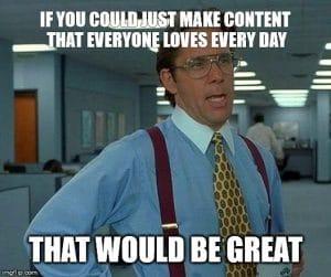 Social Media Management Meme