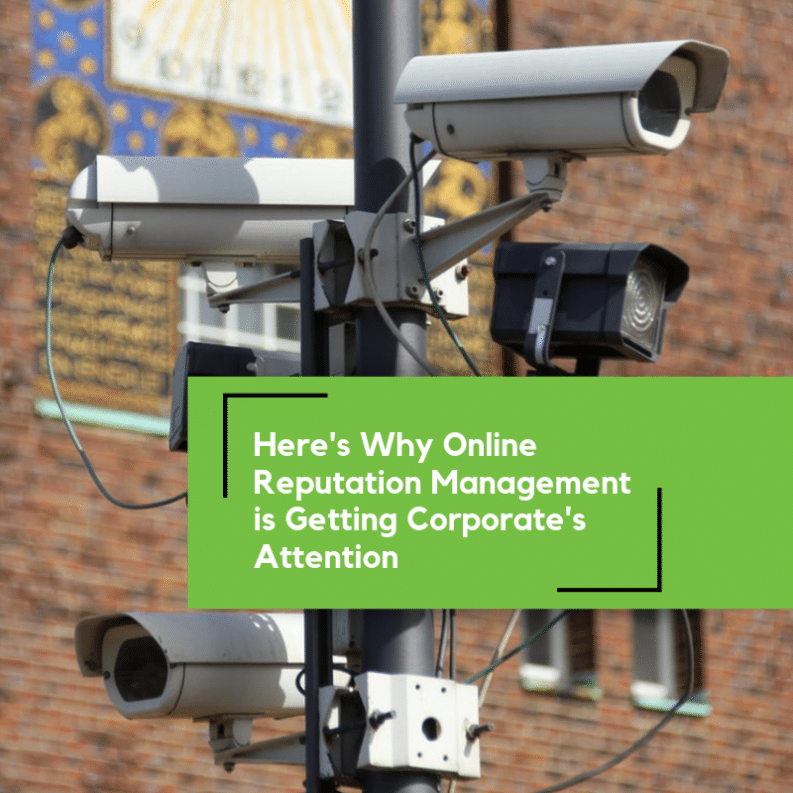 Online Reputation Management Gets Attention of Brands